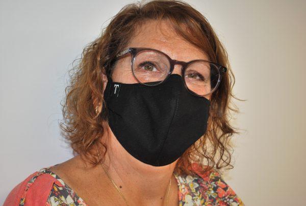 Modèle masque femme